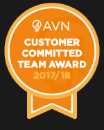 Customer Committed Award 2017 2018