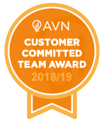 AVN Customer Committed Award 2018 2019